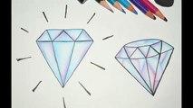 Como Desenhar Diamante Com Asas Passo A Passo影片