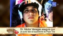 Dr. Vanegas ya leyó el expediente de Pepe Tola ¿Será que acepta defenderlo?