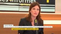 """Défaite de #LREM aux législatives partielles : pour Juliette Méadel, membre du Bureau national du PS, """"je ne crois pas qu'on puisse dire que ce soit un désaveu pour le président de la République"""""""