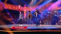 Ryandro Campos, Gabriel Gava e João Pedro Borges cantam 'Vou Deixar' no The Voice Kids - Batalhas