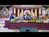 artists perform in chhapia mahotsava in gonda of uttar pradesh