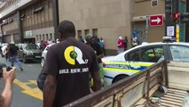 ANC members clash with pro-Zuma protesters