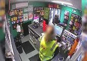 Robber Hits Two Queensland Service Stations, Armed with Knife