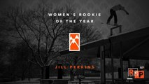 2017 Women's Rookie of the Year: Jill Perkins - TransWorld SNOWboarding Riders' Poll 19