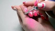 Дизайн ногтей Орхидея в технике китайская роспись, мастер класс видео
