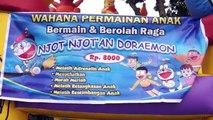 Istana Balon Permainan Anak PlayGround For Children Njot Njotan Doraemon - Lagu