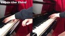 アニメ ルパン三世のテーマ ピアノ 1人de連弾 弾いてみた