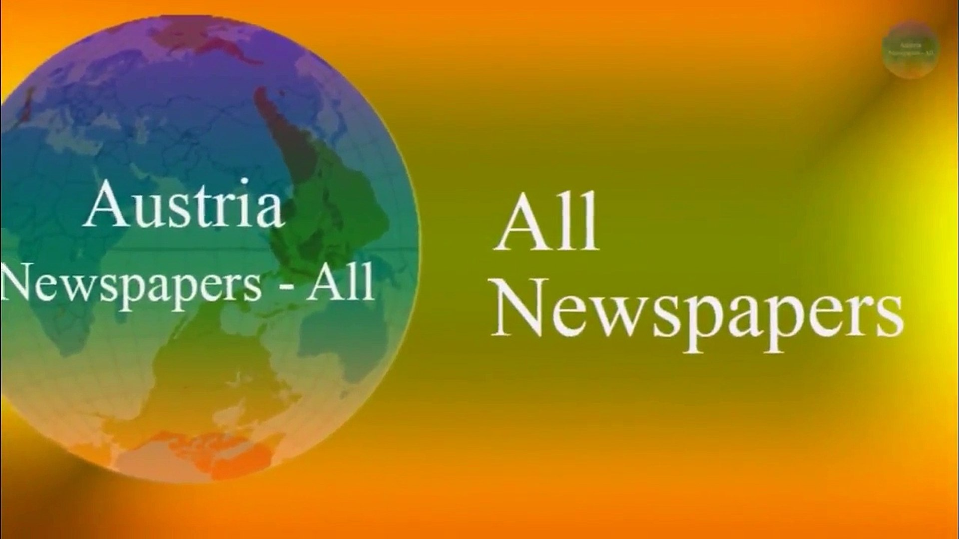 Austria Newspapers - Austria News - Top Austria Newspapers App - Austria news live - YouTube