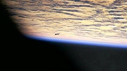 black knight satellite - alien raumschiff space ship