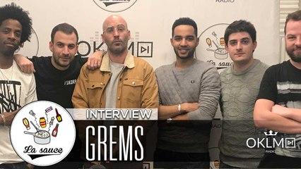 GREMS - #LaSauce Sur OKLM Radio 02/02/18