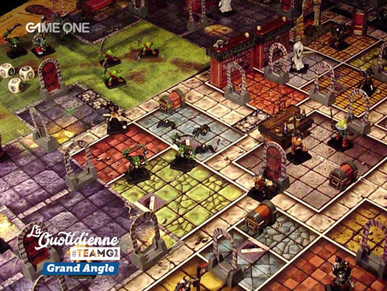 Grand Angle - Jeux vidéo et jeux de société