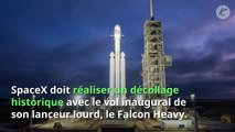 SpaceX lance Falcon Heavy