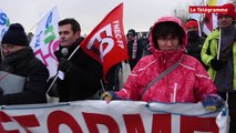 Vannes. 150 manifestants contre la réforme des lycées