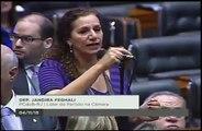 Cinismo de Jandira Feghali é desmascarado na Câmara