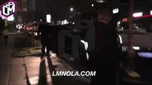 Justin Bieber outside the Nice Guy in Los Angeles, California (June 25)