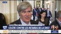 """Le Foll s'agace des retards à la SNCF qu'il juge """"plus importants"""" qu'avant"""
