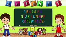 Alfabet dla Dzieci po Polsku - Polish alphabet - Piosenki dla Dzieci
