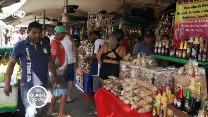 Comida rápida Brasil: açai con pescado | Global 3000