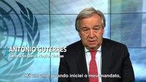 Mensagem do secretário-geral da ONU para 2018: um alerta para o mundo