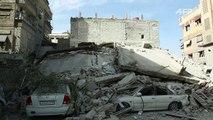 Mortíferos bombardeos del régimen sirio en Guta Oriental