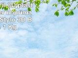 Filament 3D Blanc PLA 175mm Fil 3D plastique Printer imprimante 3D ou Stylo 3D Bobine 1