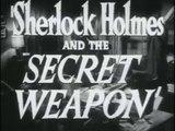 SHERLOCK HOLMES ET L'ARME SECRÈTE  (1942) Bande Annonce S.T.Fr./Engl.Sub. (en option)
