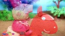 Peppa la Cerdita en español y Videos de Dinosaurios para niños✨Videos de Peppa Pig/Juguetes de Peppa