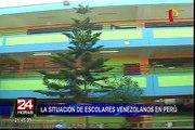 Brindarán facilidades a niños venezolanos para matricularse en colegios limeños