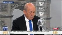 """""""Une centaine"""" de jihadistes français arrêtés par les kurdes en Syrie et """"jugés par les autorités judiciaires locales"""", indique Jean-Yves Le Drian #BourdinDirect"""