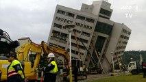 Taïwan: au moins 4 morts et 200 blessés dans un séisme à Hualien