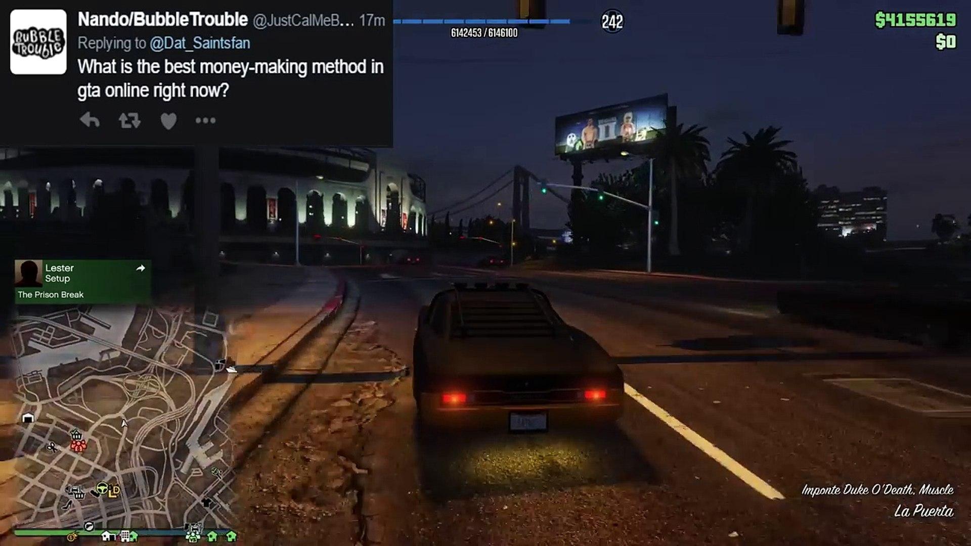 GUN RUNNING DLC PART OF MC BUSINESS, SEA SPARROW W/ GUNS & MORE (GTA 5 Q&A)