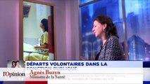 Agnès Buzyn: «Certains fonctionnaires sont un peu désœuvrés contre leur gré»