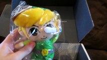 Nerd Block Unboxing! - Legend of Zelda Stuff, Starfox Mug & More! (February 2015)