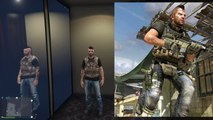 GTA 5 Online - FASHION FRIDAY! (Soap Mactavish, Space Monkey & The Vault Boy) [GTA V Cool Outifts]