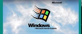 Windows startup sounds (old) - video dailymotion