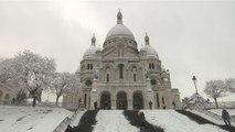 Les Parisiens chaussent leurs skis