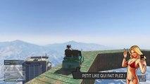 "PARCOURS WTF EN AIR "" THUG "" ! - GTA 5 ONLINE ( GTA 5 COURSE WTF #86 )"