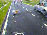 Cyclisme Cycling Chute Tour De France 2004 Etape 1 Pluie