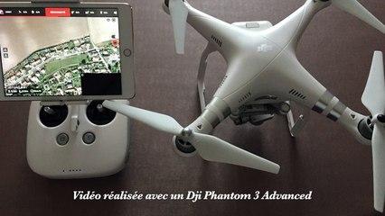 Vidéo réalisé avec un Dji Phanyom 3 Advanced
