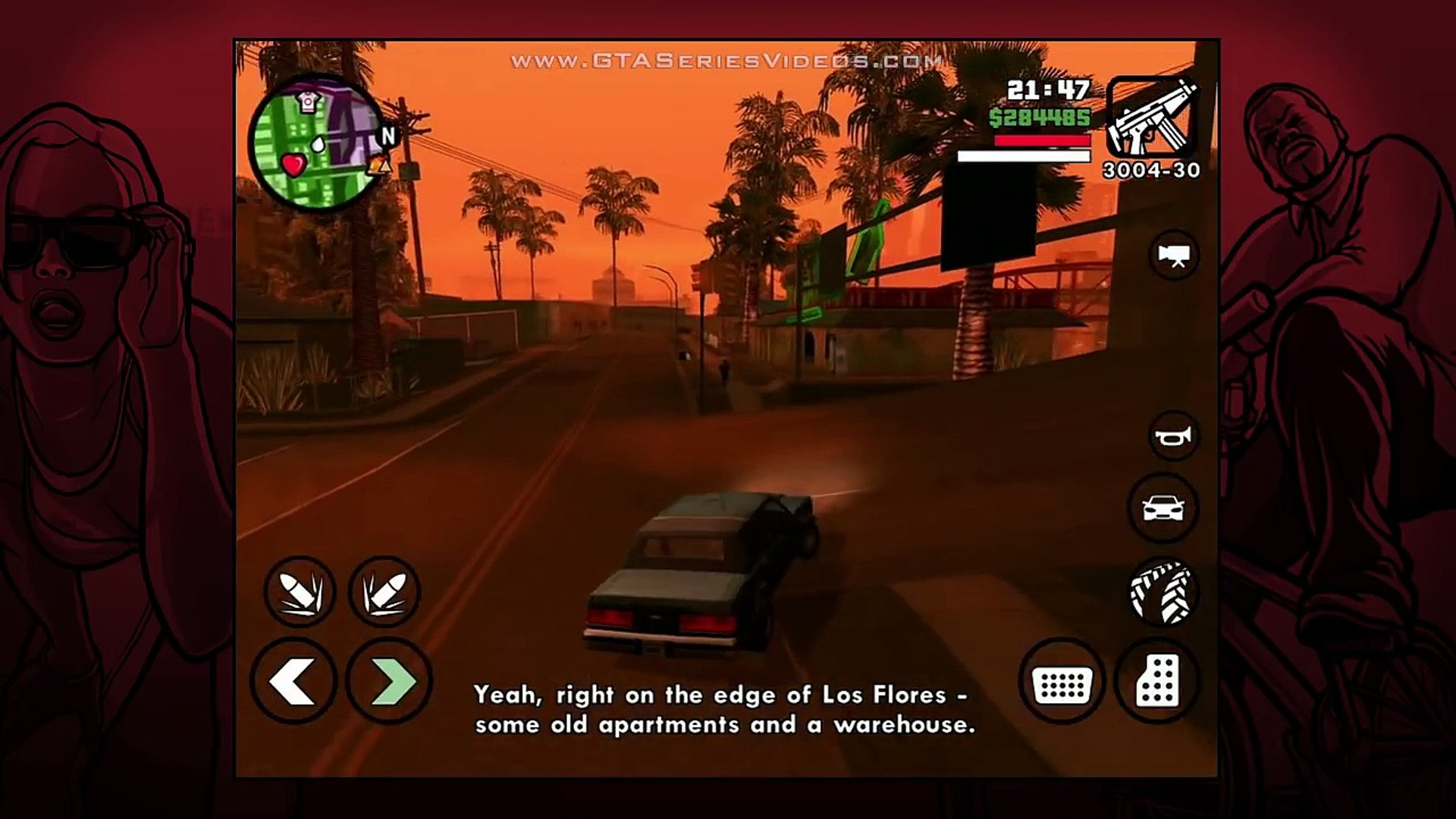 GTA San Andreas - iPad Walkthrough - Ending / Final Mission - End of the Line (HD)