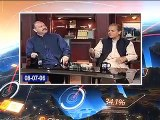 What was Mushahid Hussain Syed said about Nawaz Sharif in the past Hamid Mir play old video