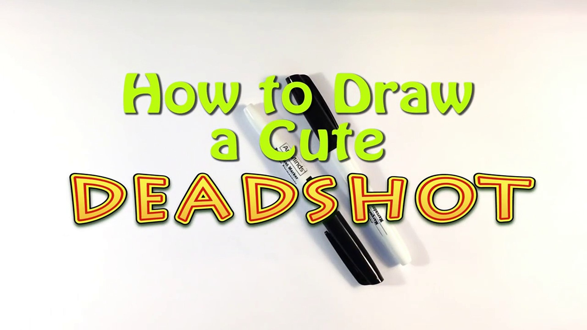 How to Draw Deadshot - Easy Things to Draw