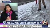 """Neige: """"On va être confrontés de plus en plus à des événements exceptionnels"""", dit la maire de Paris"""