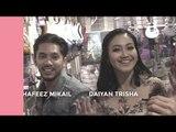 #BiziBody: Hafeez Mikail, Daiyan Trisha 'Shopping' Bersama?