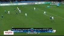 Jonathan Ikone Goal - Montpellier 1-1 Lyon - 07.02.2018
