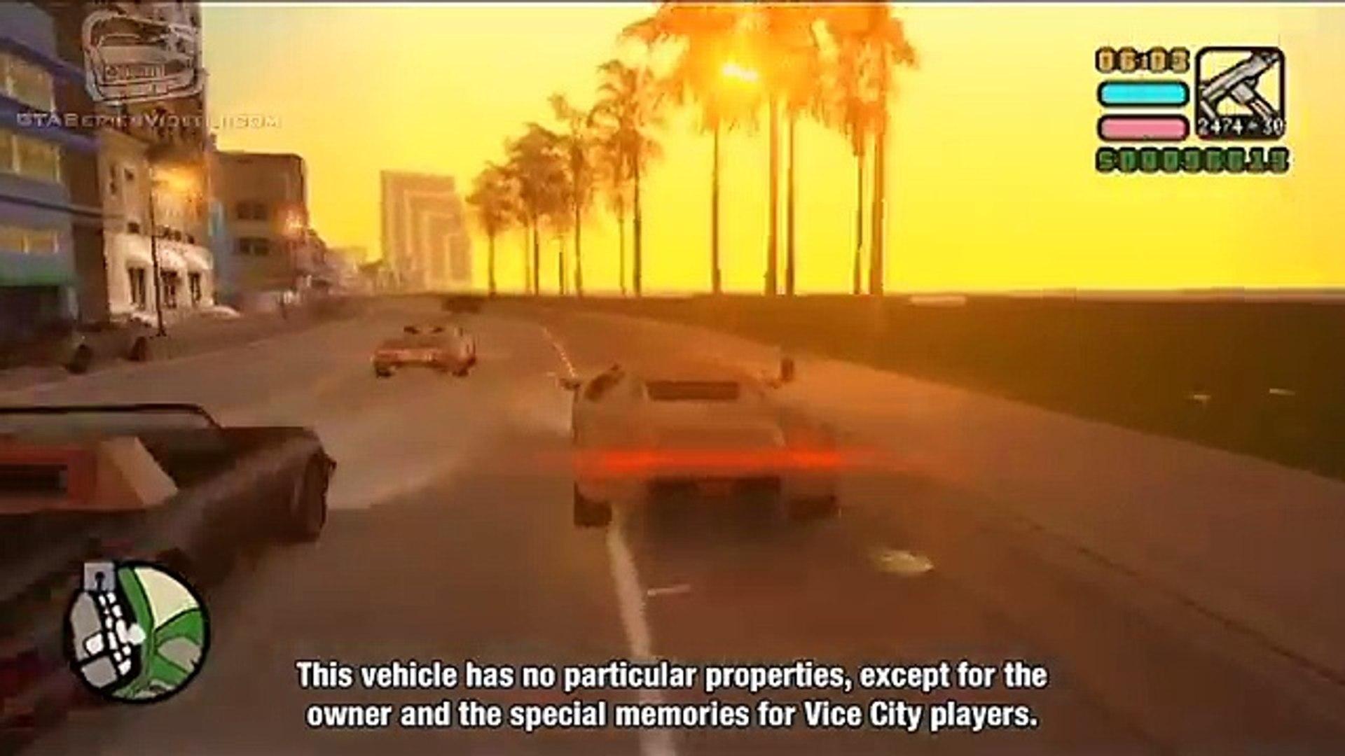 GTA Vice City Stories - Tips & Tricks - Unlockable Vehicles