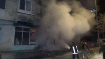 Suşehri'nde Depo Yangını Korkuttu