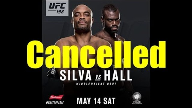 Breaking NEWS,Anderson Silva injured Out of UFC 198 fight Against Uriah hall