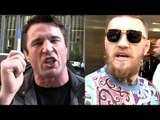 Conor McGregor is trying to look for excuses on his way out,Chael-Goal shouldn't be to win Title