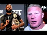 I'll return and face Jon Jones if the price is right,Brock Lesnar is not the guy to beat Jones-Cruz